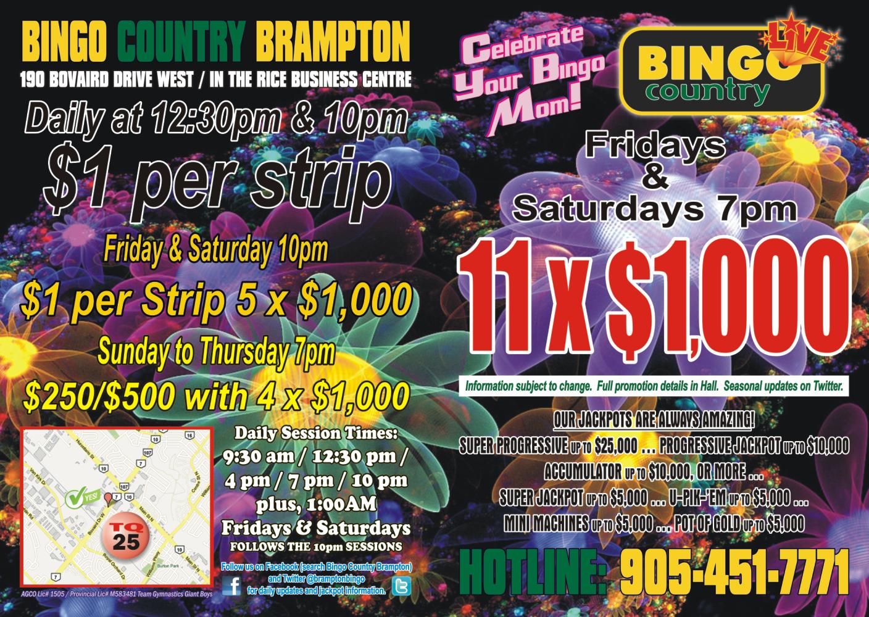 Brampton Bingo Country